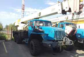 Автокран 25 тонн, кс-45721 на базе а/м урал-4320