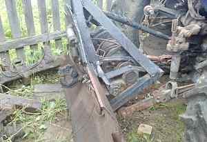 Трелевочная лебедка для трактора