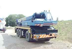 Автокран gottwald amk 51-32 1985г