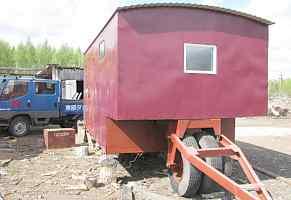 вагончик-бытовку на колёсах в Тулуне