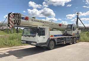 Автокран 30т Zoomlion QY30V 2012г