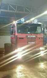 Scania 113RH 6x4 c полуприцепом (сцепка)