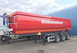 Kassbohrer DL 32 самосвальный полуприцеп 32 м3