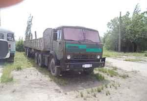 Камаз-5410 с полуприцепом
