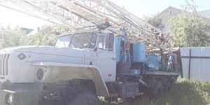 Урал-4320 буровая установка