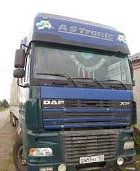 DAF XF 95 2000 г.в., Прицеп кроне 1997г.в