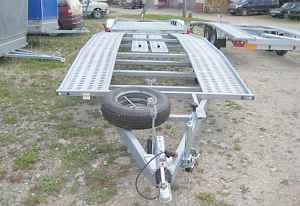 Прицеп-лафета для транспортировки автомобилей