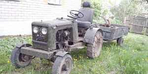 Самодельный трактор
