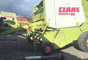Claas Rollant 46 пресс подборщик