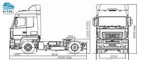 Седельный тягач маз 5440B9 в наличии