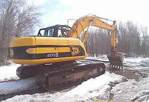 Экскаватор JCB JS200