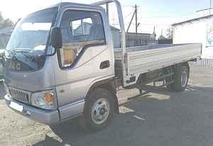 новый грузовик JAC
