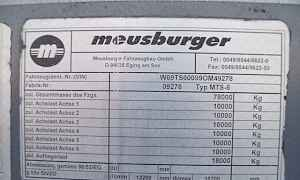 Трал Meusburger MTS6.78тон