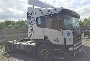 Сцепка Scania R114LA4X2LA340 + П/п Sommer Новтрак
