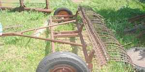 Грабли тракторные поперечные, гидравлические