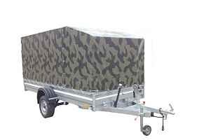 Прицеп для перевозки снегохода/квадрацикла