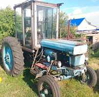 Трактор Т28+косилка+грабли+плуг+бороны+телега