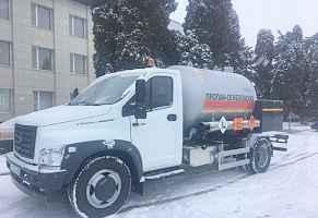 Газовоз автоцистерна ац-6 на шасси газон-Некст