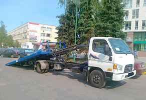 Hyundai hd78, 11 г, эвакуатор платформа