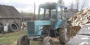 трактор мтз 80 с большой кабиной