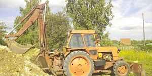 Трактор экскаватор на базе лтз-60