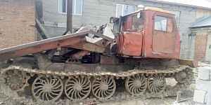 Трактор тт - 4М с будкой, сак