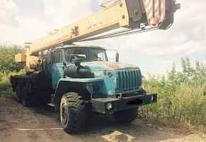автокран 25 тонн на базе Урал