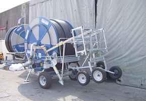 Дождевальная машина Nettuno (Италия)