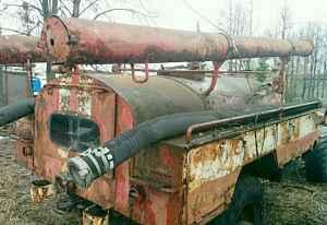 Шасси газ 66. Пожарная