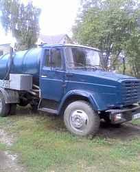ассанизаторской машины ЗИЛ