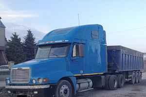 Тягач Freightliner сцепка