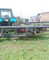 Трактор мтз-82.1, жатка жвп-6.4