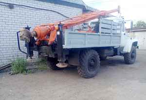 ГАЗ 3308(садко) ямобур бкм 317 2007г.в