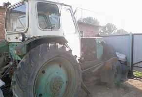 трактор с прицепом, сенокоска, грабли