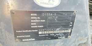 Бульдозер komatsu D 155A-5 Б/У год выпуска 2007