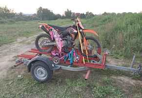 прицеп (для перевозки мотоцикла/квадроцикл)