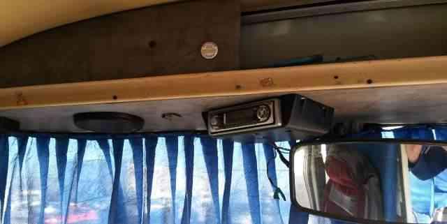 Акустические полки на автобус паз фото