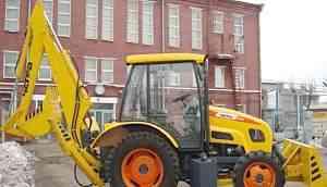 трактор Агромаш60ткэ с бульдозерным отвалом