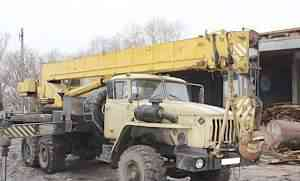 Автокран кс-45717-1 на базе Урал
