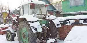 трактор с куном