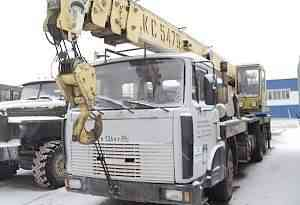 Автокран 25 тонн Машека