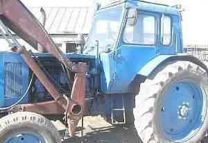 Трактор мтз-50Л с куном + сельхоз. агрегаты к нему
