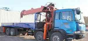 Кран борт автовышка 2004 г/в, кму 10 тонн