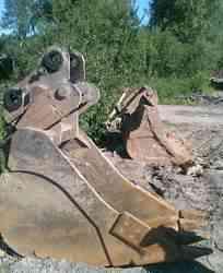 Навесное оборудование. ковш с быстросъёмом