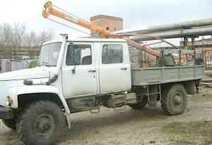 Бурильно-крановая машина - бкм 317А-01 газ (318)