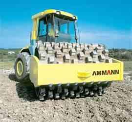 Каток грунтовый ammann ASD150
