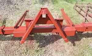 Навеска боронок для колесного трактора