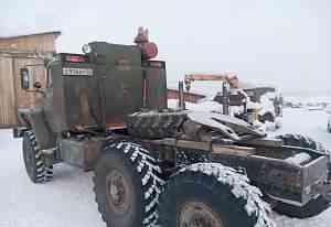 седельный тягач Урал-4320