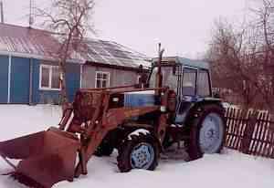 Трактор лтз с куном