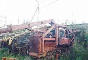 Трактор дт-75, бкм, бкго, бурилка